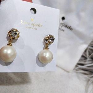 Kate Spade Lady Marmalade Pearl Earrings